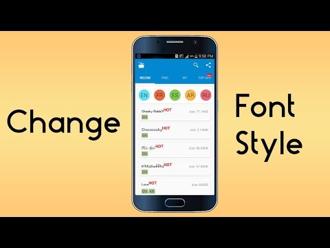 How To Change Default Font Any Android [Root]