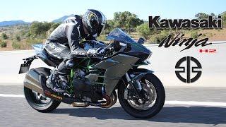 Kawasaki Ninja H2 2016: Prueba a fondo [Full HD]