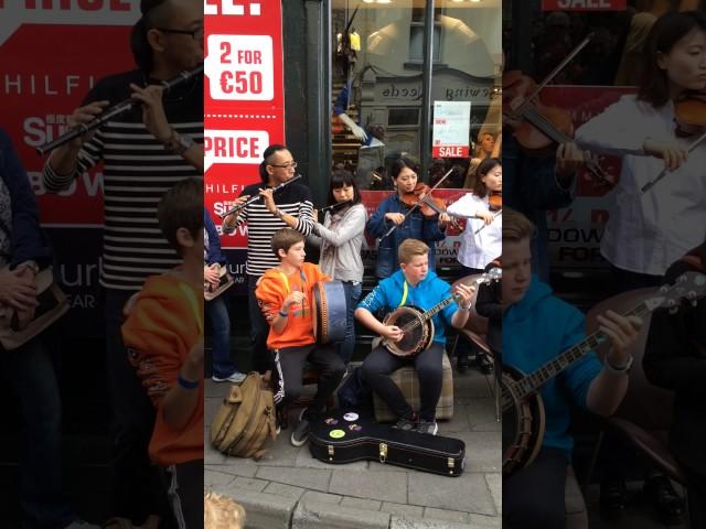 Toyota Ceili Band @ Fleadh Cheoil 2016 Street Performance 4