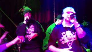 the Chemodan Clan - На парапете + Гной (Гомель, HOLLYWOOD, 23.12.2012)
