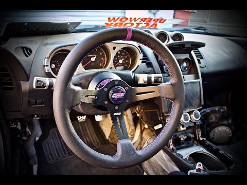 How To Install Aftermarket Steering Wheel Setup, Nissan 350z