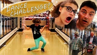 fortnite dance in a grocery store??? (PEOPLE STARED)
