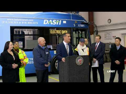 E DASH Bus Unveiling