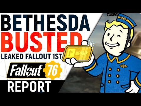 Bethesda DIDN'T Get Away With It! Leaked Future Items Expose Fallout 1st Greed & Role Of Players