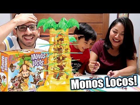 Jugamos con Monos Locos   Juegos Karim Juega