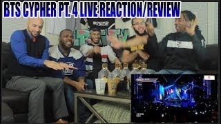 FIRST BTS - BTS CYPHER PT 4 LIVE AT BTS COUNTDOWN REACTION/REVIEW