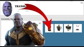 😱ROBLOX 1 BEING THANOS IN THE ACCUSED /HOW TO BE THANOS IN ROBLOX/TURKISH😱