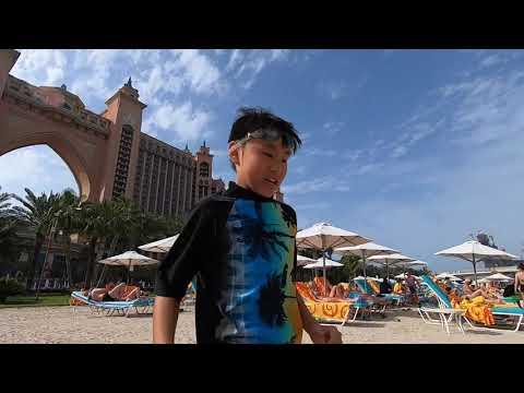 Dubai The Palm Jumeirah Aquaventure Waterpark 2019