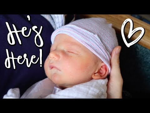 BABY NAME REVEAL + BIRTH ANNOUNCEMENT