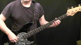 How To Play Bass Guitar To I Cant Turn You Loose - Otis Redding - Duck Dunn
