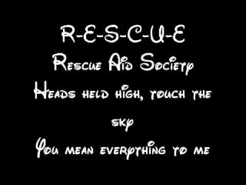Rescue Aid Society Lyrics