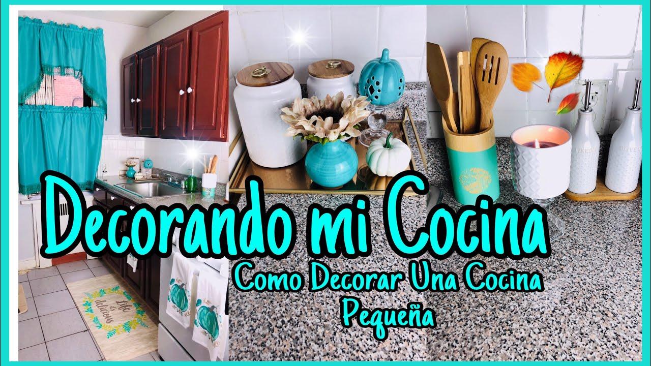 Mi Cocinadecora Tu Cocina Para Otoñoideas Para Decorar Una Cocina Pequeña