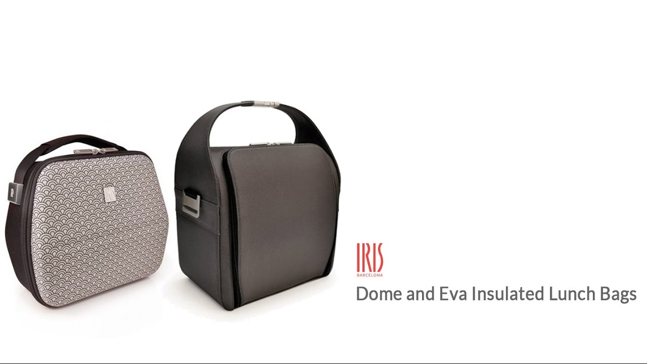 Eva Insulated Lunch Bag With Containers From Iris Barcelona