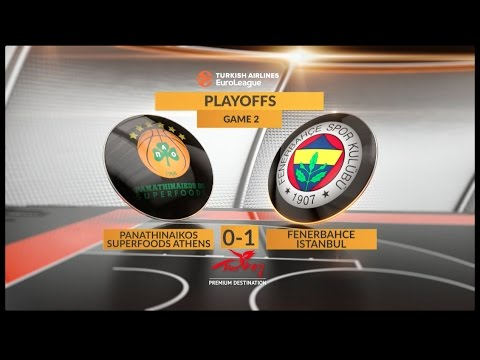 Highlights: Panathinaikos Superfoods Athens-Fenerbahce Istanbul, Game 2