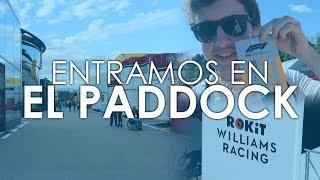 Entramos en el PADDOCK de la FÓRMULA 1 - Experiencia VIP con Williams y @rokitofficial | Efeuno