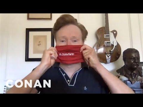 Conan's State Farm #GoodNeighbor Tips: Cloth Masks Edition