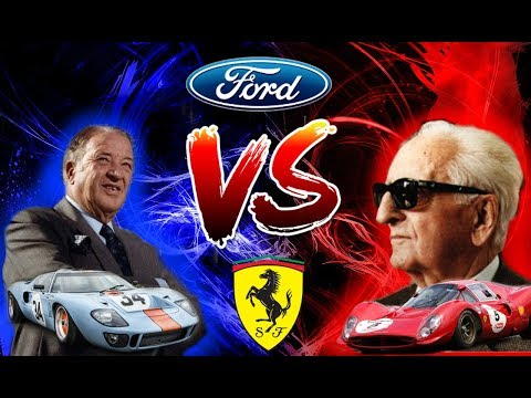 [Ep17] THE 24 HOUR WAR! The Full Story of Ford vs Ferrari at Le Mans (1963-1969)