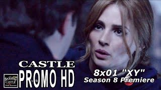 "Castle 8x01 Promo  - Season 8 Episode 1 Promo ""XY"""