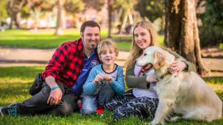Ted & Luca | Dogs for Kids with Disabilities | Ragamuffin Pet Photography