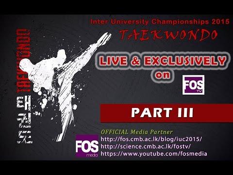 Inter University Championships 2015 - Taekwondo - Part 3