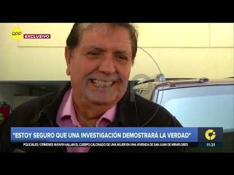 Alan García: 'Puedo decirles que yo para robar no nací'