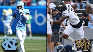 North Carolina vs. Wake Forest Key Matchup: UNC's DB's vs. Wake's WR's