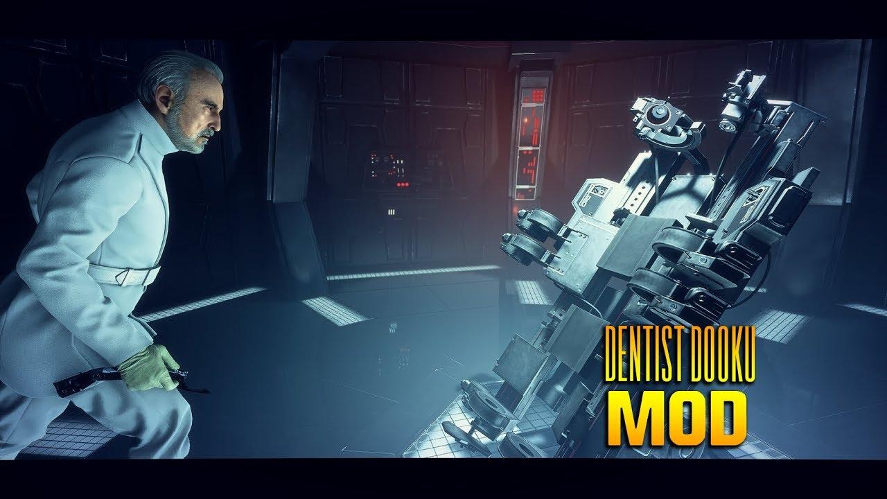 Wilbur Wonka Dentist Dooku Mod – Star Wars Battlefront 2