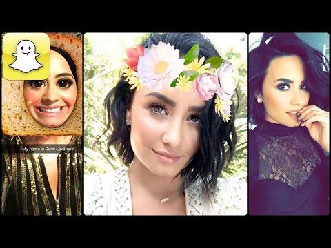 Demi Lovato - Snapchat Video Compilation (Best 2016★)