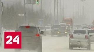 Небывалые снегопады обрушились на Казахстан