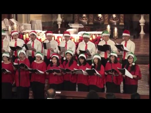 Gloria in Excelsis Deo - Konser Natal 2015 Saint Peter Choir Katedral Jakarta