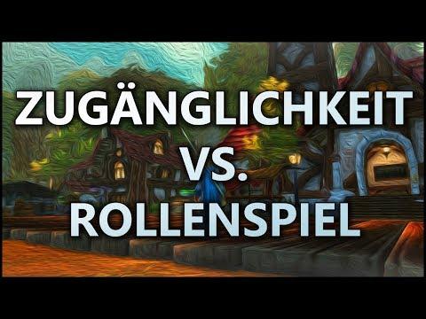 Zugänglichkeit Vs. Rollenspiel In World Of Warcraft