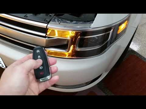 - Ford Flex - Testing Smart Key Fob Remote Control After Changing Weak Battery