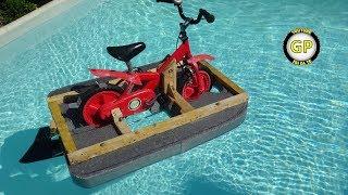 Make a Floating Water Bike for Kids - DIY