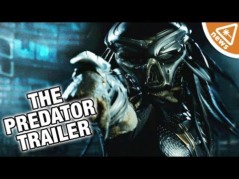 Why The Predator Teaser Isn't Impressing the Internet (Nerdist News w/ Hector Navarro)