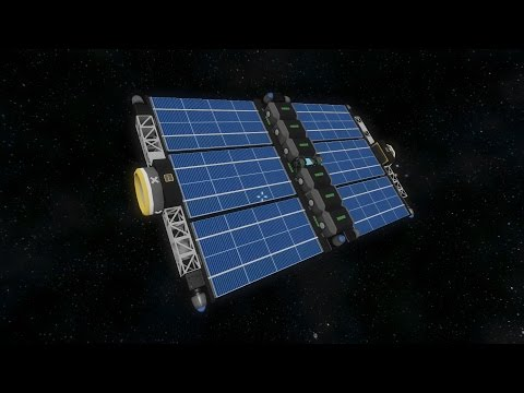 Space Engineers - Sun Tracking Sattelite [no mods]