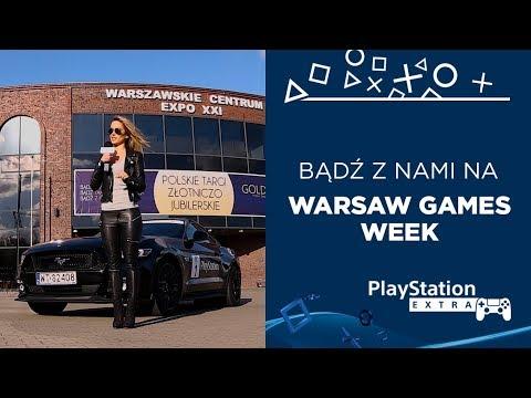 Bądź z nami na WIELKIM ŚWIĘCIE ROZRYWKI | Warsaw Games Week
