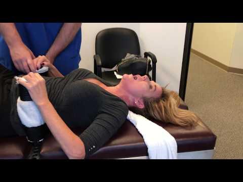 Tomball Podiatrist Office Mgr Gets Adjusted For Severe Lower Back Pain & Spasm At ACR LLC