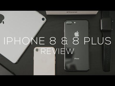 iPhone 8 & iPhone 8 Plus Review -  The World's Fastest Phone!