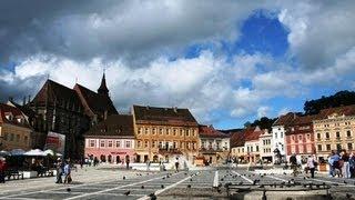 видео Достопримечательности Брашова (Румыния)