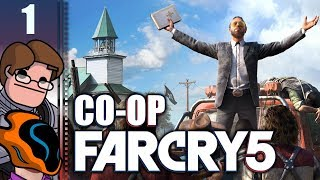 Let's Play Far Cry 5 Co-op Part 1 - The End