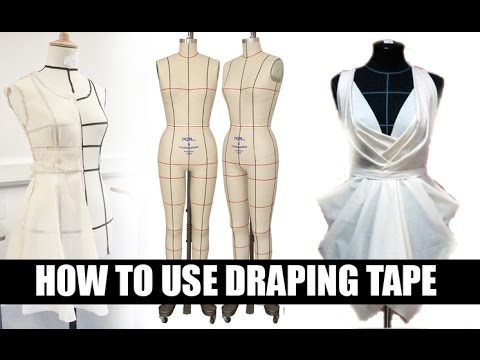 How to use Draping Tape