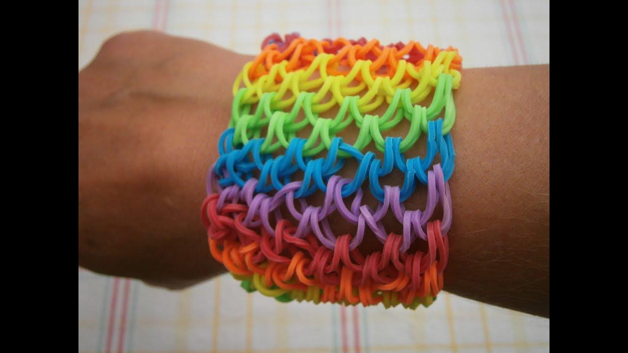 Looping armband