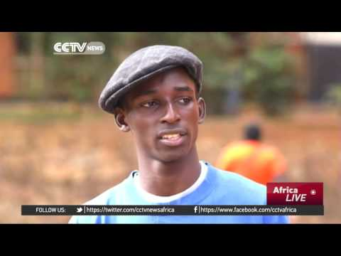 Youths in Kampala slums take lessons from hip-hop culture