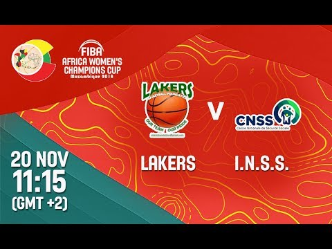 LIVE 🔴 - Lakers v I.N.S.S. - FIBA Africa Women's Champions Cup 2018