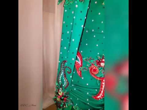 Как делать навеску для восточного костюма (костюм для танца живота)