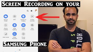 How to Record your Samsung Phone Screen | Screen Recorder Demo