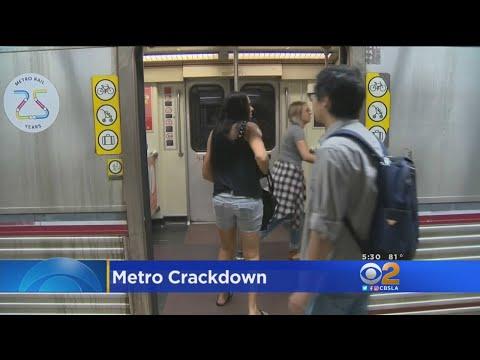 LA Metro Cracks Down On Bad Behavior