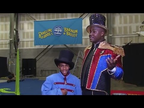 Ringling Bros. Presents Out Of This World Behind The Scenes