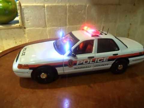 1 18 nassau county police ny diecast car www po light com youtube. Black Bedroom Furniture Sets. Home Design Ideas