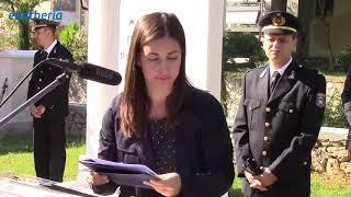 Καλαμάτα: Τα αποκαλυπτήρια του μνημείου πεσόντων πυροσβεστών